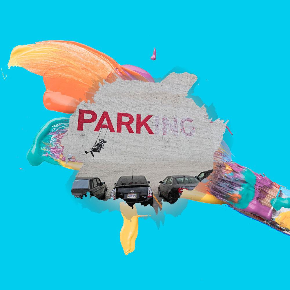 6+3 έργα τέχνης σε parking πουεντυπωσιάζουν